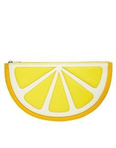 Pochette #accessoires #yellow #pretachanger