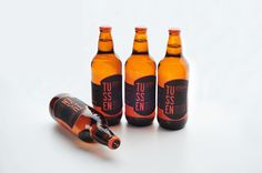 TUSSEN Premium Belgian Beer and it's packaging. Designed by Windy Wiguna (student work), Indonesia.
