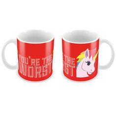 You're the Worst Mug by Fintan Wall You're The Worst, Things To Come, Mugs, Tableware, Wall, Irish, Gifts, Design, Dinnerware