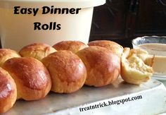Easy Dinner Rolls @ treatntrick.blogspot.com