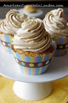 Vanilla Bean Latte Cupcakes
