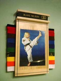 kids stuff on Pinterest | Belt Display, Karate Belts and Karate ...