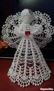 Image result for crochet angel ornament pattern free