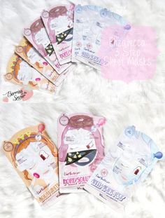 Review: Elizavecca 3 Step Sheet Masks