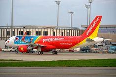 Vietjet Air Pepsi Cola Airbus A320-200.
