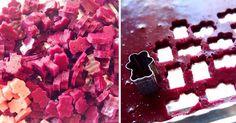 Jednoduchý recept na gumových medvedíkov, ktorí sú: domáci, prírodní, zdraví, nízko-kalorickí, ovocní a bez cukru