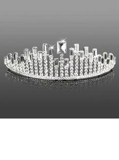 Headpieces Headpieces Attractive Clear Crystals Wedding Bridal Tiara  (042005465)