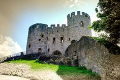 """dudley castle keep"" by Novar Imran, via 500px."