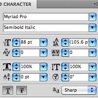 Quick Tip: The Character Panel in Adobe Illustrator (Illustrator: beginner: 6 minutes)