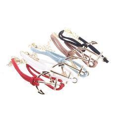Anchor Bracelet || $5 each; 2 for $8