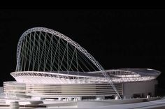 See the award winning Wembley Stadium, reinvented by Foster and Partners architects. The stadium is designed to be ideal for football. Architecture Concept Diagram, Architecture Drawings, Architecture Design, Truss Structure, Membrane Structure, Soccer Stadium, Football Stadiums, Stadium Architecture, Steel Detail