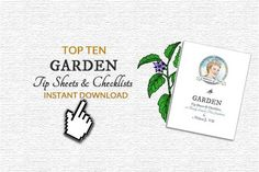 The most popular garden tip sheets and checklists on Empress of Dirt are now available in one convenient downloadable file.