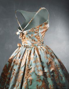 Renaissance Inspired Cocktail Dress, ca. 1957 Cristobal Balenciaga via Balenciaga Museum