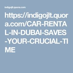 Since Dubai is visited by millions of tourists every year, it is obvious that it generated an opportunity for car rental in Dubai.