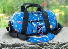 Kids duffel bags by Olive Kids!