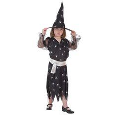 Disfraz Infantil Bruja Arañas