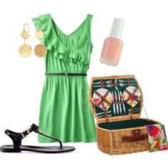 Picnic on the Dock, created by krista-edsall.polyvore.com