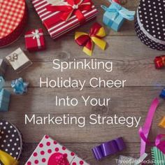 Add some holiday cheer to your #marketing strategy with these timely and engaging tips.