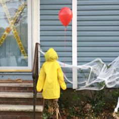 Not everything should be scary and creepy on Halloween, especially whenever you have young kids. Halloween doesn't need to be scary. It is the occasio. Halloween Prop, Scary Halloween Decorations, Halloween Party Decor, Halloween 2019, Halloween Crafts, Halloween Stuff, Halloween Yard Ideas, Halloween Garage, Haunted Halloween