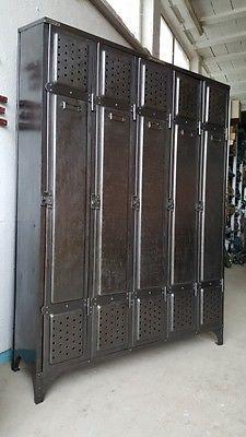 Ideal Kommode Anrichte K rbe Schrank Metall Sideboard Spind Schubladen MU a