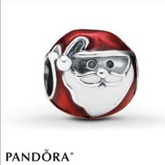 Pandora jolly Santa Christmas charm New pandora charm Pandora Jewelry