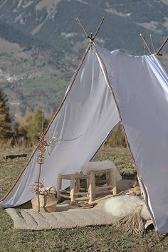 glamping - tent - natural - New Ideas