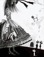 Black and White illustrations Alice in Wonderland Alice In Wonderland Theme, Adventures In Wonderland, Lewis Carroll, Illustrations, Book Illustration, Go Ask Alice, Dear Alice, Pin Up, Vladimir Kush