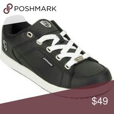 ae47bd21e1 Selling this LEXANI leather sneakers size 9.5 black on Poshmark! My  username is  abisstuff