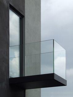 On my wishlist: a Juliet balcony made of glass