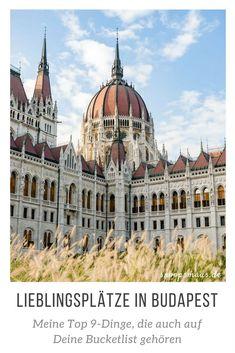 Meine Lieblingsorte in Budapest – Top 9 To Do – Best Europe Destinations Europe Travel Guide, Europe Destinations, Hidden Places, Places To Go, Budapest Guide, Buda Castle, Bratislava, City Break, Barcelona Cathedral
