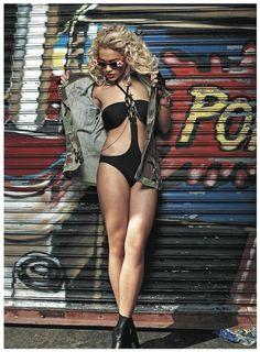 Rita Ora's interview on Vibe.com