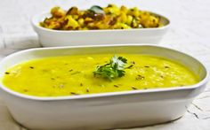 Dal Tadka Recipe Flavored with Lemon and Coriander