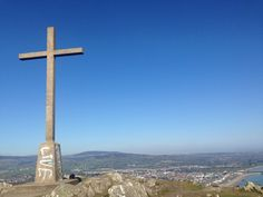 Hike breystones and gray Dublin. At the top of the mountain and at the foot of the cross, no place I'd rather be.