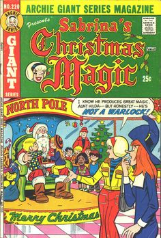 Cover for Archie Giant Series Magazine (Archie, 1954 series) Archie Comic Books, Archie Comics, Christmas Comics, Magazines For Kids, Classic Comics, Vintage Comics, Comic Character, Comic Art, Science Fiction