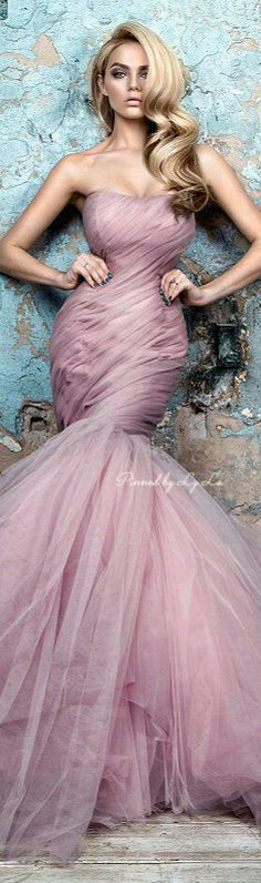 Gala Dresses, Couture Dresses, Wedding Dresses, Types Of Dresses, Nice Dresses, Beautiful Gowns, Beautiful Outfits, Pink Fashion, Fashion Outfits