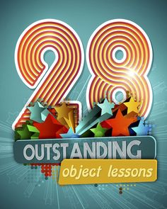 Christian Object Lessons for Kids Ages 4-12. Use everyday objects to teach Biblical truths!