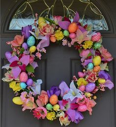 Easter/Spring Wreath on Etsy, $80.00