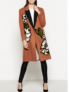 BY MALENE BIRGER Arianne Floral Detail Coat