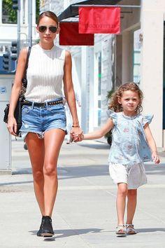 Summer Denim Trends - Summer Fashion Trends - Harper's BAZAAR - Celebrity Street Style