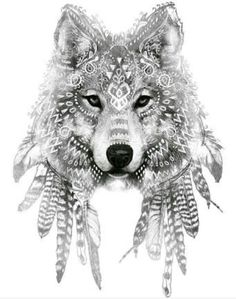 Tattre.blogspot.co.za - tattoo, Wolf, art, wolf tattoo, ink