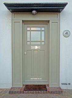 pebble grey door