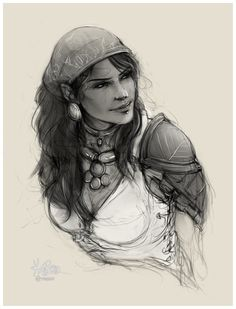 Isabela Is the captain of the pirate ship Siren's Call. She can teach the Duelist specialization to the Warden in Dragon Age : Origins and Is an optional companion as well a romance option for either male or female Hawke in Dragon Age II. Isabela is also a playable character in the Dragon Age : Inquisition multiplayer.