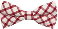 Bow Ties for Adult and Young Man (100% Cotton) Red
