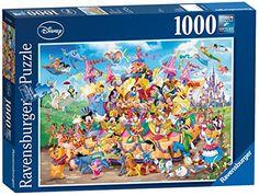 1000 Piece Disney Carnival Puzzle Quiz Disney, Film Disney, Disney Fun, Disney Mickey, Disney Gift, Baby Disney, Mickey Mouse, Disney Jigsaw Puzzles, Puzzles 3d