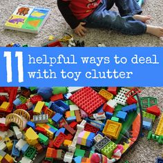 : 11 Helpful Ways to Deal with Toy Clutter: Quite a few good ideas Trendy Toddler Girl Clothes, Cheap Kids Clothes, Baby Kids Clothes, Toddler Girl Outfits, Toddler Fashion, Boy Fashion, Fashion Clothes, Toddler Toys, Toddler Activities