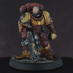 Finished my Store Lieutenant for my army! Full album in the comments : minipainting Warhammer 40k Blood Angels, Warhammer 40k Figures, Warhammer Paint, Warhammer Models, Warhammer 40k Miniatures, Warhammer 40000, Warhammer Armies, Miniaturas Warhammer 40k, Minis