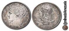 La Bamba. Moneda de 5 Reales acuñada en 1858