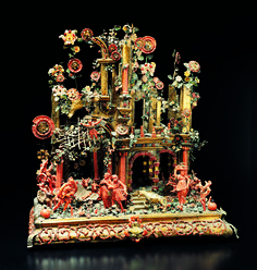 #Coral #crib made by #Trapani craftmen in the 17th century and preserved at…