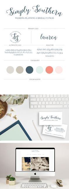 Writefully Simple  ||  The Simply Southern Branding + Website Design  #brand #brands #branding #logo #logos #design #designs #designer #designing #digital #digitals #font #fonts #style #styles #gray #grey  #blue #mint #coral #pink #blush #romantic #beautiful #pretty #timeless #lasting #professional #web #website #wedding #weddings #planner #events #bridal #fitness #blog #blogger