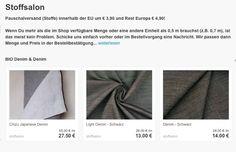 Jeansstoff online kaufen